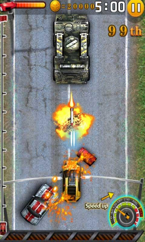 Storm Racing 2D - screenshot