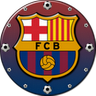 FC Barcelona Clock Widget icon