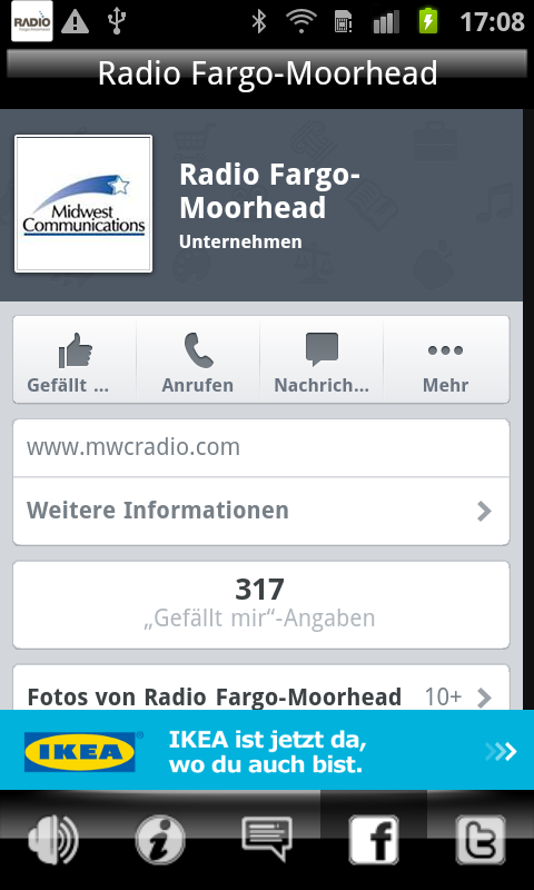 Radio Fargo Moorhead- screenshot