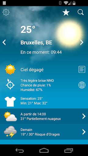 Météo Belgique XL PRO