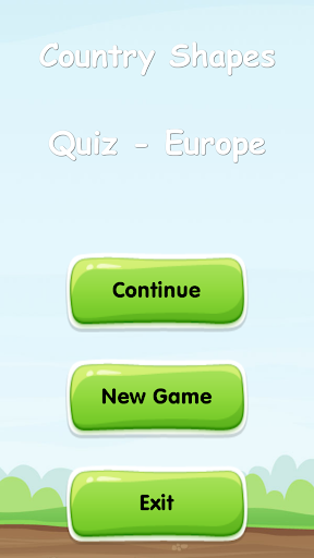 Country Shapes Quiz - Europe