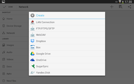 File Manager HD(File transfer) 3.4.3 screenshot 112782