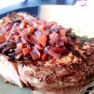 Red Wine Reduction Steak Sauce.