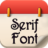Serif Font for Galaxy Note