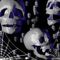 Halloween Skulls LiveWallpaper logo