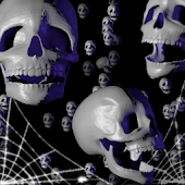 Halloween Skulls LiveWallpaper
