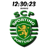 Sporting Portugal Clock
