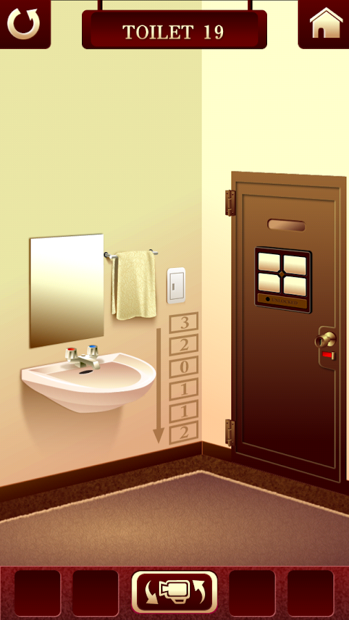 "Escape Room Bathroom Level 1 100 toilets ""room escape game"" - android apps on google play"