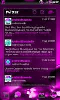 Screenshot of GOWidget Theme AdeaPink-Free