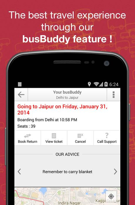 Book Bus Tickets - redBus.in - screenshot