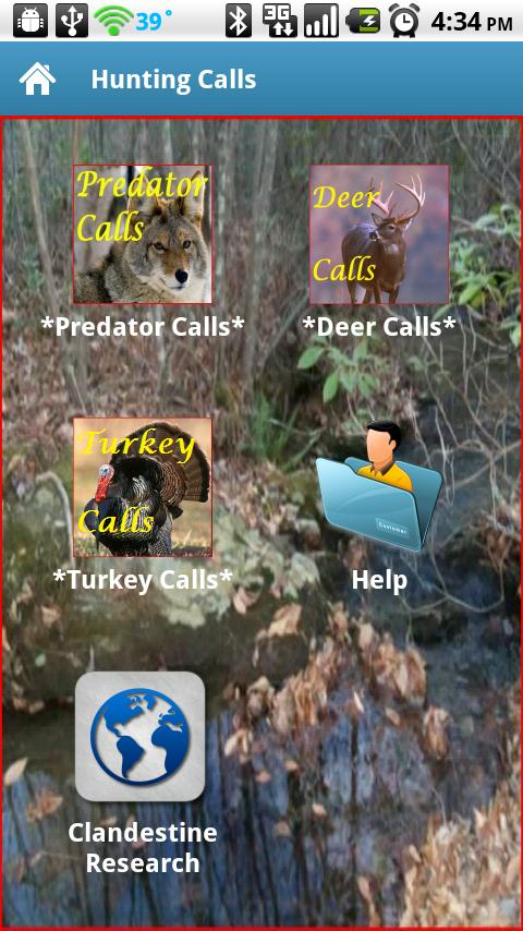 Hunting Calls - screenshot