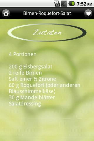 iKochen Salate Lite - screenshot