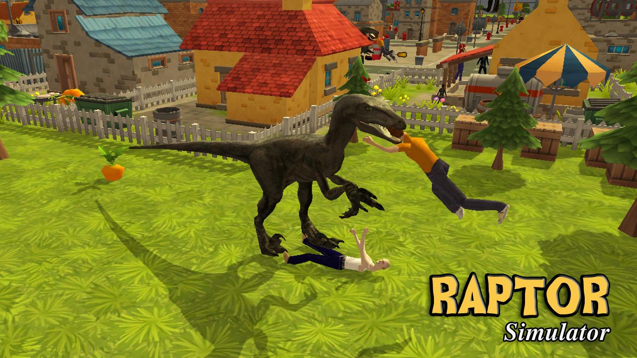 raptor dinosaur simulator 3d android apps on google play