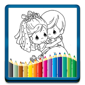 Wedding Coloring for Kids 家庭片 App Store-愛順發玩APP