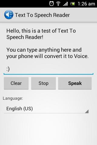 Text 2 Speech Reader - AdFree