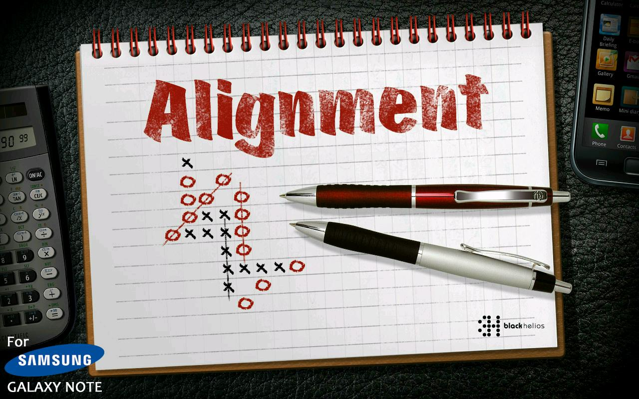 Alignment exclu Galaxy note - screenshot