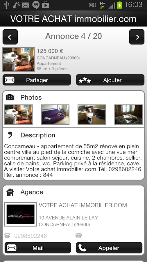 Votre achat android apps on google play for Achat maison viroflay