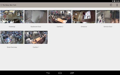 AXIS Viewer for Hosted Video- screenshot thumbnail