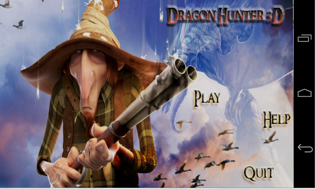 Dragon Hunter 3D– captura de ecrã