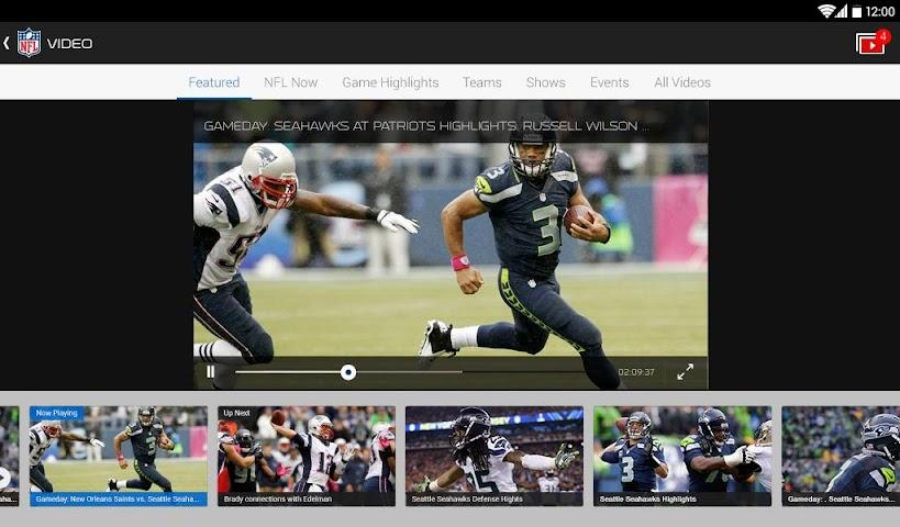 Screenshot 2 NFL Mobile