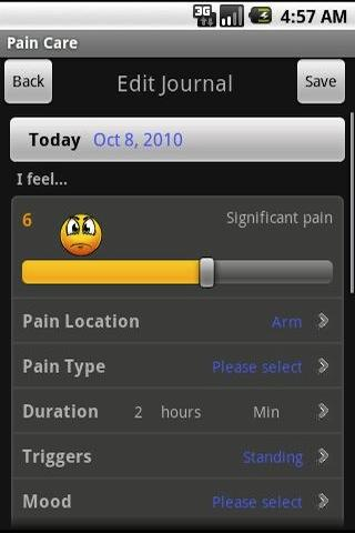 Pain Care - screenshot