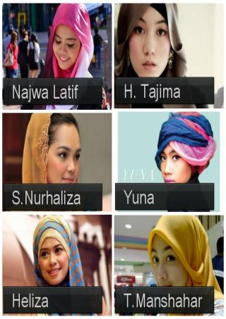 Artist Hijab Tutorial