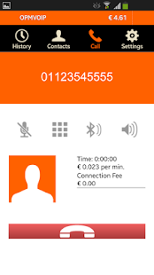 OPMVOIP low-cost calls- screenshot thumbnail