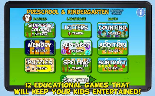 Preschool and Kindergarten SE