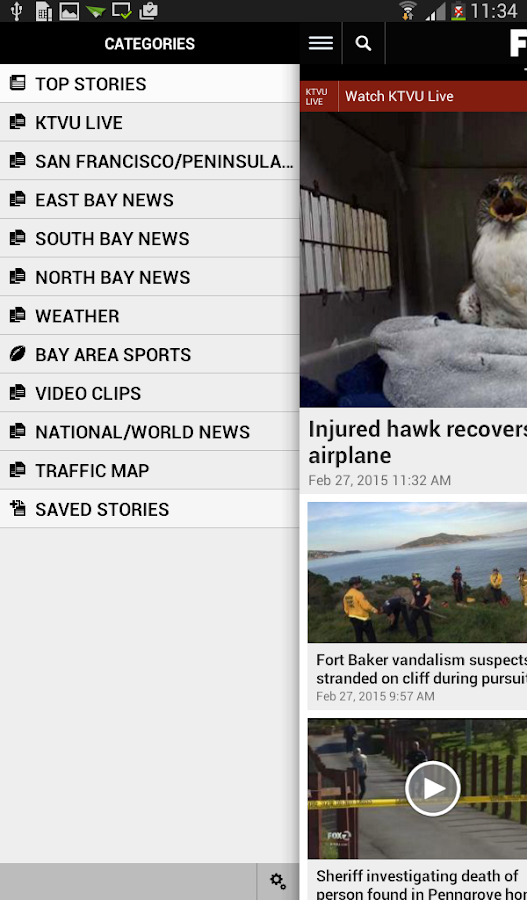 KTVU News- screenshot