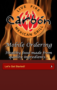 Carbón Mexican Grill Ordering- screenshot thumbnail