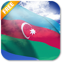 3D Azerbaijan Flag icon