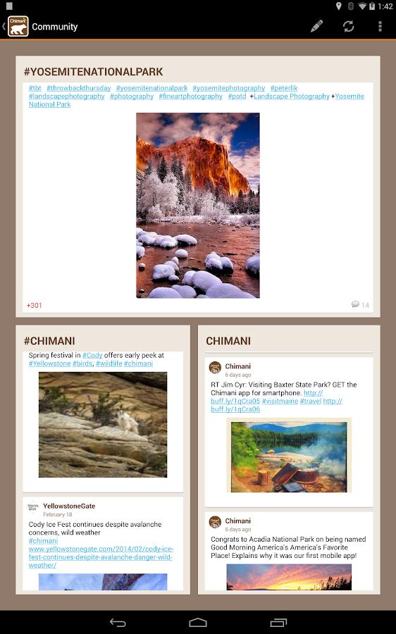 Chimani Yosemite National Park - screenshot