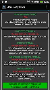 Ideal Weight BMI Adult & Child- screenshot thumbnail
