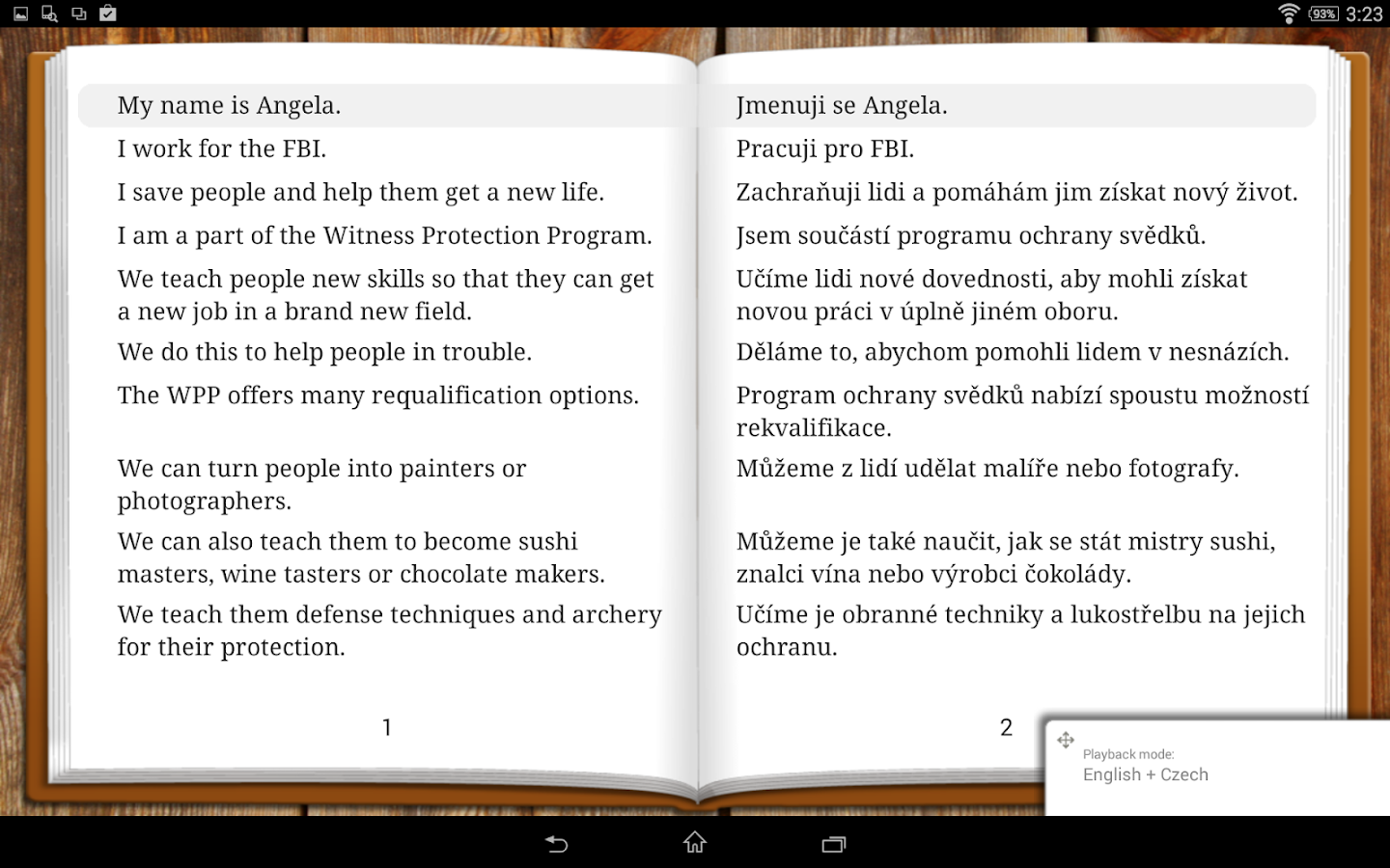 Stories for Android- screenshot