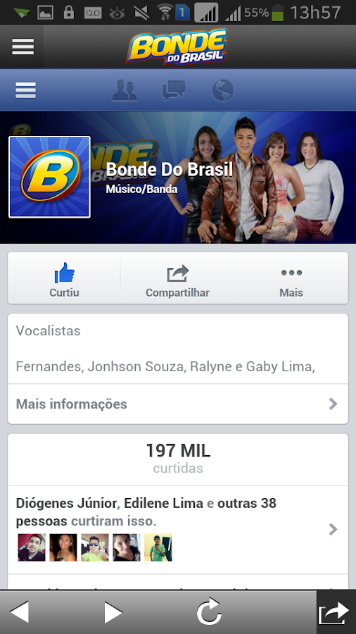 Bonde do Brasil- screenshot