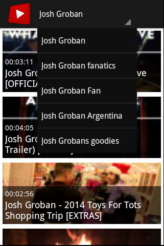 Josh Groban Channel