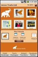 Screenshot of Asian Trails Ltd.