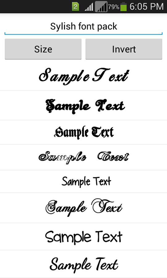 Worksheets A To Z Stylish Font Style stylish fonts android apps on google play screenshot