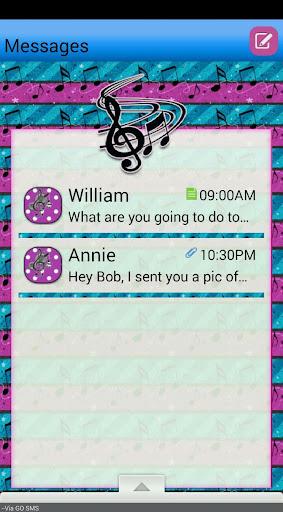 RockStar GO SMS THEME