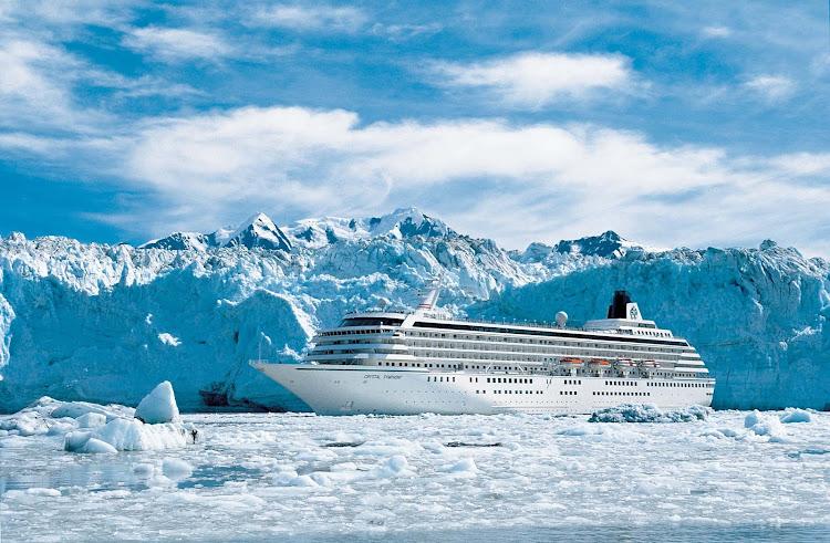 Explore the beauty of Glacier Bay, Alaska, aboard Crystal Symphony.