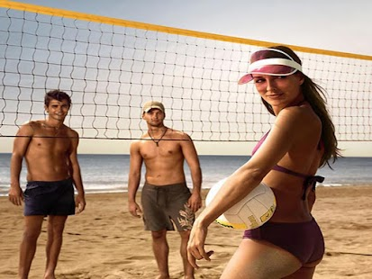 沙灘排球拼圖