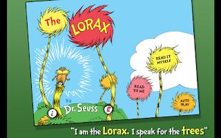 Screenshot of The Lorax - Dr. Seuss