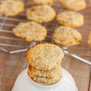 Two-Ingredient Coconut and Banana Cookies.