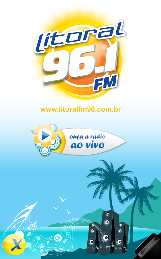 Rádio Litoral 96.1 FM- screenshot