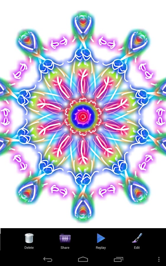 Magic Paint Kaleidoscope- screenshot