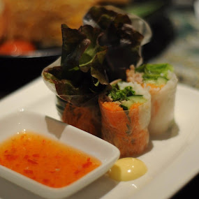 Seafood harumaki ,, by Arnetta Rachma - Food & Drink Plated Food