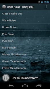 White Noise - Rainy Day- screenshot thumbnail