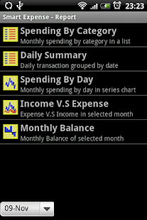 Smart Money/Expense- screenshot thumbnail