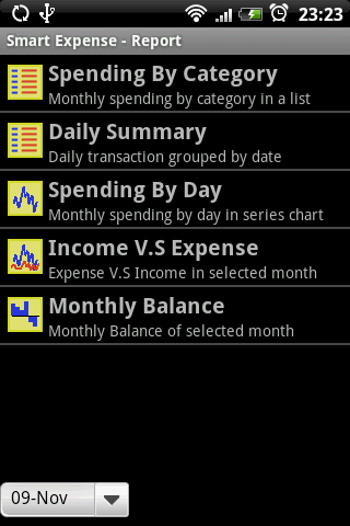 Smart Money/Expense - screenshot