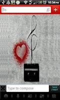 Screenshot of GO SMS - Music Lover